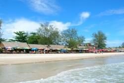 Пляжные развлечения в Камбоджи