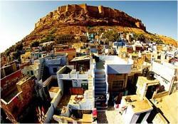 Город Джодхпур и его дворцы