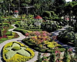 Нонг Нуч — удивительный тропический сад