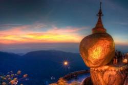 Золотой камень и гора Чайттийо