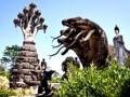 Парк Сала Кеоку — удивительные скульптуры